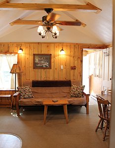 Chickadee Cottage Living Room