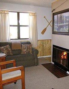 Columbine Sitting Room with Fireplace