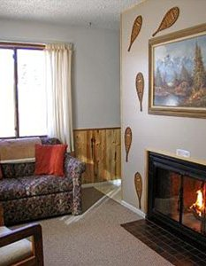 Longs Peak Sitting Room with Fireplace