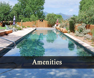 Amenities at Casa de San Pedro in Hereford, Arizona