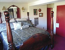 Room at The Plantation Bed and Breakfast in Lemon Cove, CA