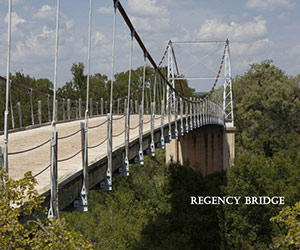 Regency Bridge in San Saba, TX