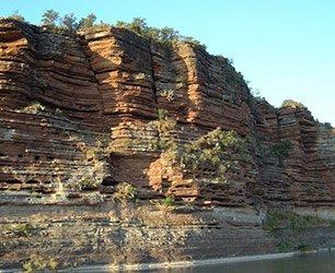 Llano River Bluffs in Texas