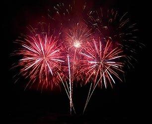 Fireworks in Llano Texas