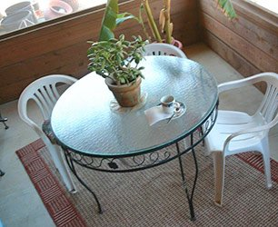 Table at Phoenix Nest Guest Houses