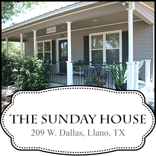 The Sunday House in Texas Hill Country
