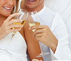 Romance Package with Champagne at Alpenhorn B&B in Big Bear Lake, California