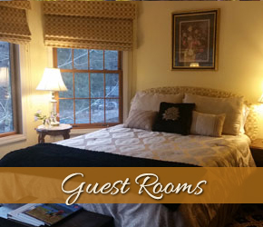 Guest Rooms at Alpenhorn Bed and Breakfast in Big Bear, California