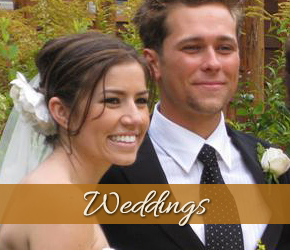 Weddings at Alpenhorn B&B in Big Bear Lake, California