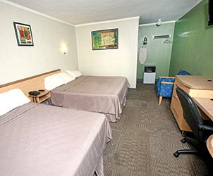 Accommodations at Meadowbrook Motor Lodge in Jericho, NY