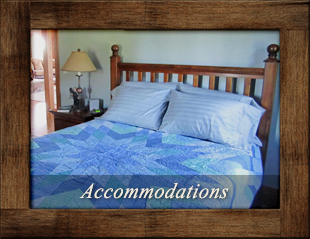 Accommodations at A Breath of Heaven B&B in Traverse City, Michigan