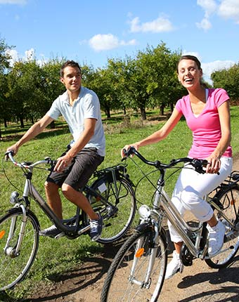 Biking Package at A Breath of Heaven Bed and Breakfast