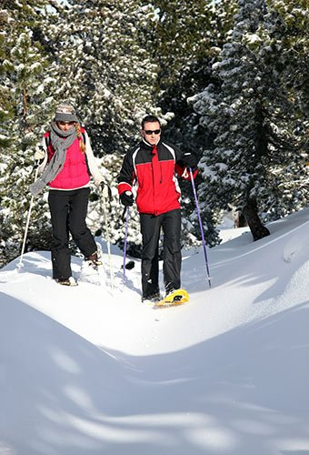 Snowshoe Package at A Breath of Heaven Bed and Breakfast
