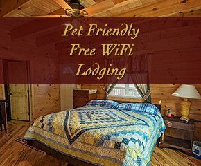 Lodging at Log Cabin in Smoky Mountain