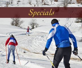 Specials at Log Cabin in Smoky Mountain