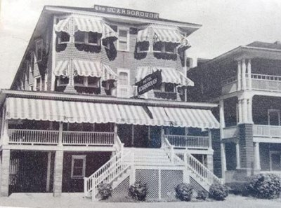 Historic Photo of Scarborough Inn in Ocean City, NJ