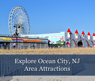 Area Attractions at Scarborough Inn in Ocean City, NJ Photo by JoshE3