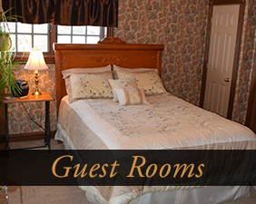 Guest Rooms at Pleasant View B&B in Chippewa Falls, Wisconsin