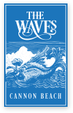 The Waves Cannon Beach Logo