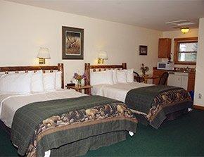 maiden basin room at yellowstone basin inn