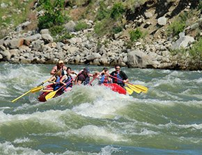 river rafting near yellowstone basin inn