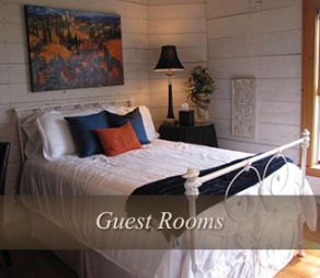 Guest Rooms at Quiet Oaks Bed and Breakfast