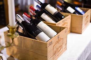 Wine near KingWood Suites in Fredericksburg, TX