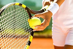tennis near KingWood Suites in Fredericksburg, TX photo by Travis K. Witt
