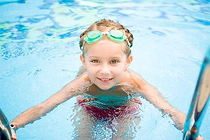 swimming near KingWood Suites in Fredericksburg, TX