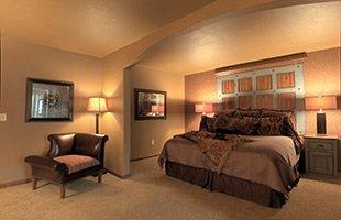 Saphhire Suite at KingWood Suites in Fredericksburg, TX