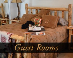 Guest Rooms at The Bears Den B&B