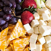 Cheese platter at the Chocolate Turtle