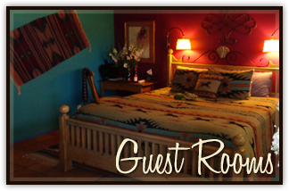 Guest Rooms at the Chocolate Turtle in Corrales, NM