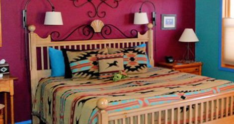 Sandia Room at the Chocolate Turtle B&B