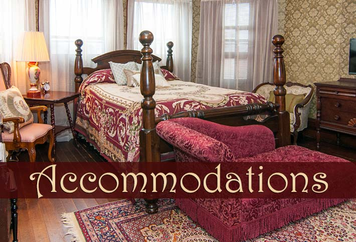 Accommodations at Heart & Soul B&B in Mount Airy NC