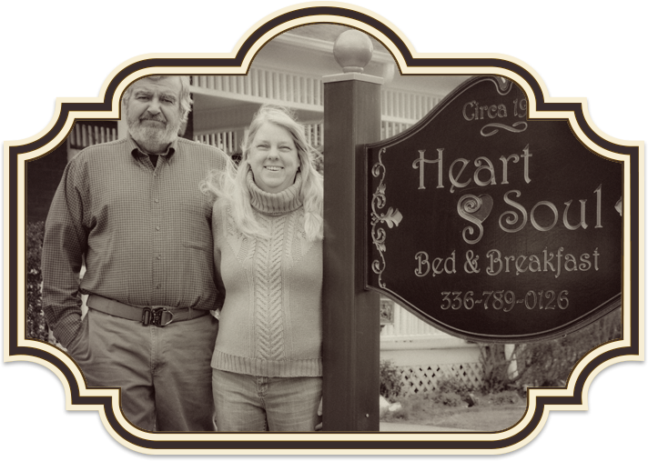 Pam and Chris of Heart & Soul in Mt. Airy