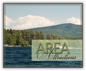 Area Attractions Near Sutton House B&B in Center Harbor, NH