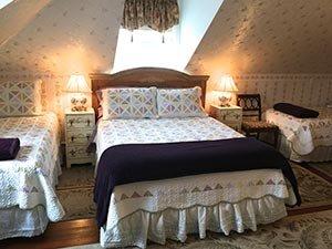 Purple Violet Suite at Sutton House