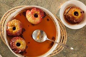 Baked Apples Breakfast Simeon Potter House