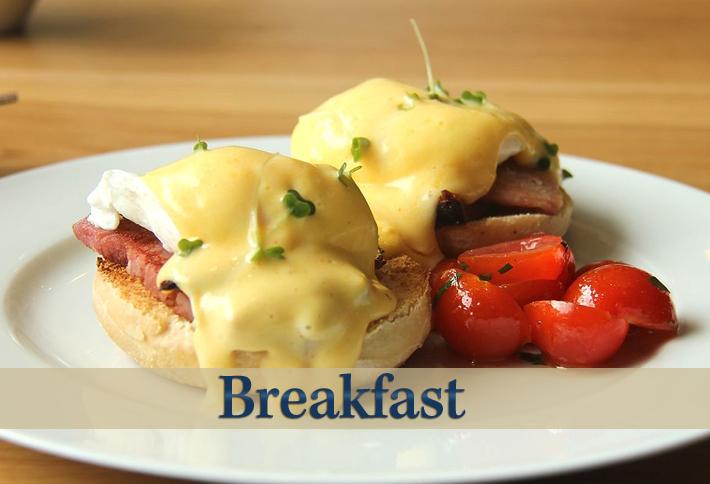 Breakfast at Delft Haus B&B in Centreville, Nova Scotia Canada