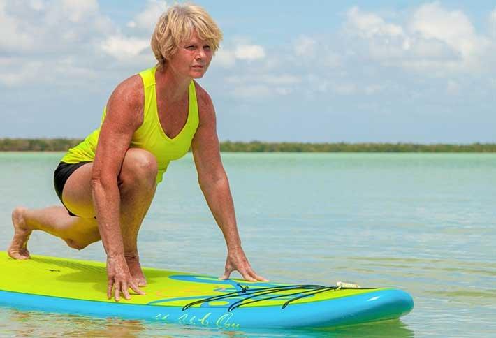 Paddleboard Yoga in Belize