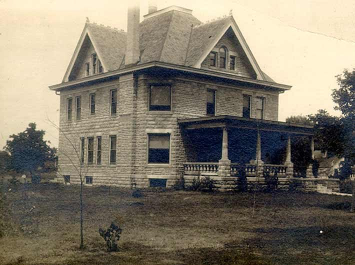 Historical photo of Albany House