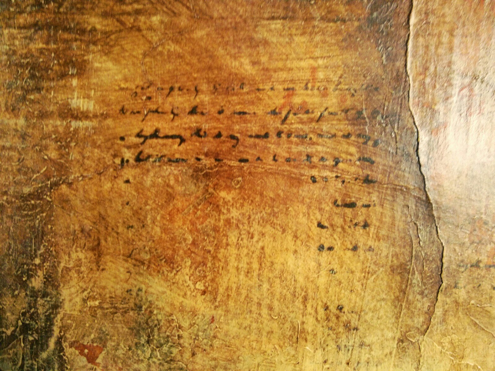 scroll painting by Deborah Meyer