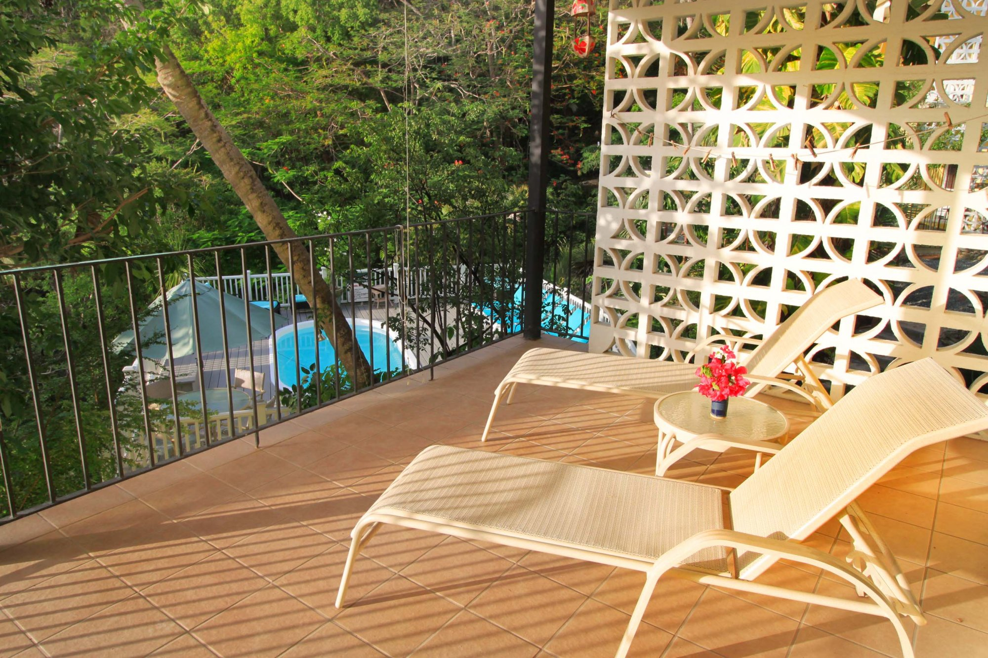 Bravo unit lounge at Serendip Vacation Condos