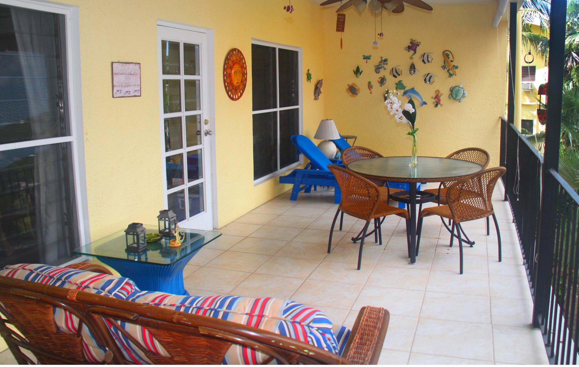 Fiesta veranda