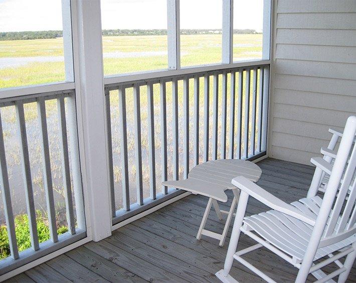 porch at sunset inn