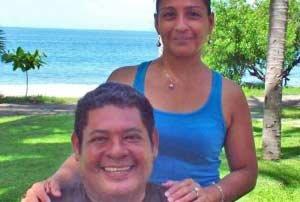 Robert and Sila Pizarro