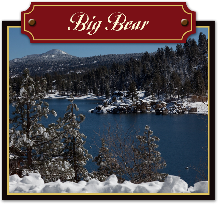 Big Bear Lake California Area Attractions