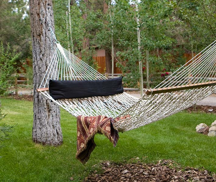 Hammock at Gold Mountain Manor in Big Bear Lake, California