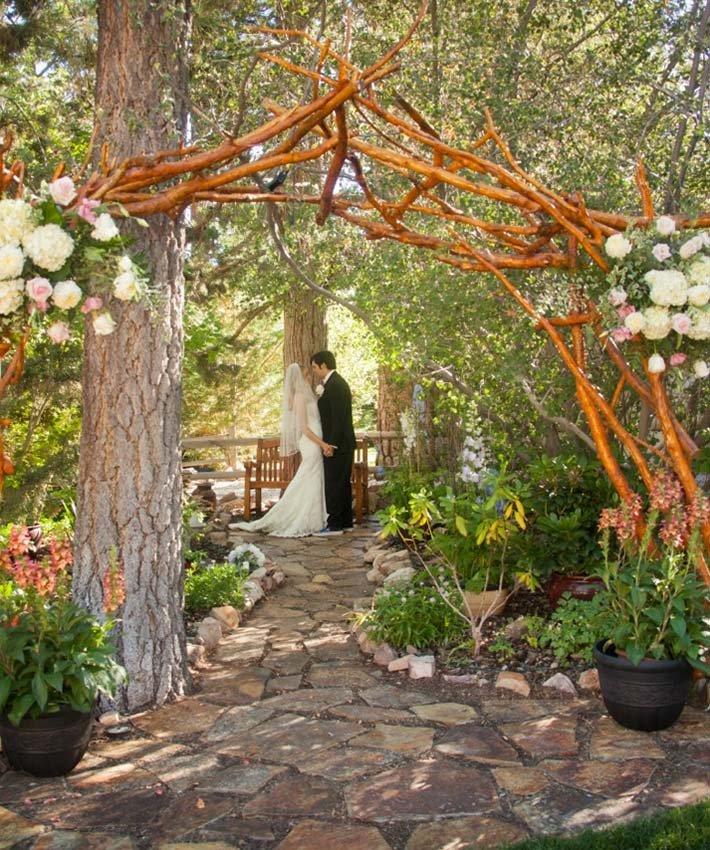 Spring Wedding at Big Bear Lake
